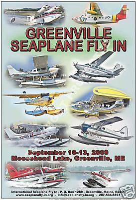 Greenville Seaplane Fly In 2009 Poster