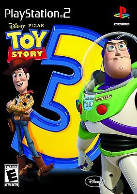 TOY STORY 3 THE VIDEO GAME - PLAYSTATION 2 PS2 (SONY PLAYSTATION 2, 2010)