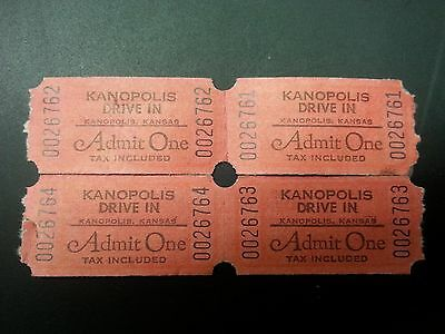 Kanopolis Drive in Theatre Ticket(s) good for the 2015 Drive in season!!!