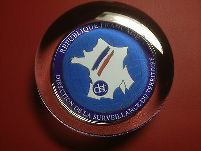 DST ' French Spy Agency 'PAPERWEIGHT` Directorate of Territorial Surveillance`