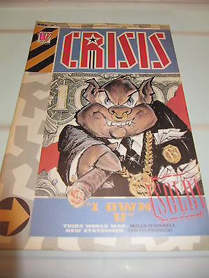 2000AD Presents Crisis Issue No. 07 (7) 12/1988, Comic