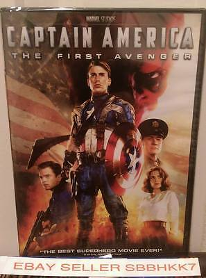 CAPTAIN AMERICA: THE FIRST AVENGER DVD,  AUTHENTIC, BRAND NEW, FREE SHIPPING!