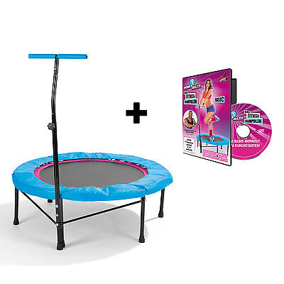 POWER MAXX Fitness-Trampolin + Training DVD Basic