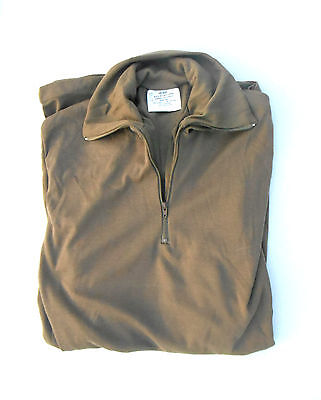 NEW LIGHTWEIGHT UNDERSHIRT Size MEDIUM COYOTE BROWN US MILITARY IN  BAG
