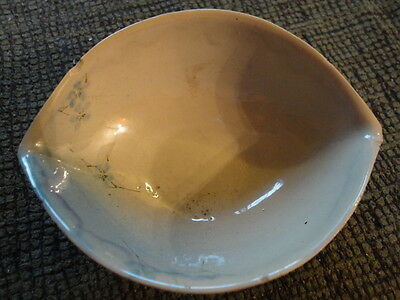 ROOKWOOD ANNA M VALENTIEN BOOKPRINTER BLUEGRAY BOWL 1886 DELICATE PAINTING ASIAN