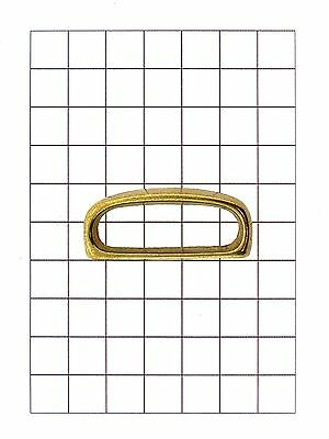 Leathercraft Hardware Brass Belt Loop for Leather 43mm x 19mm