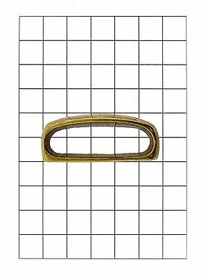 Leathercraft Hardware Brass Belt Loop for Leather 48mm x 15mm