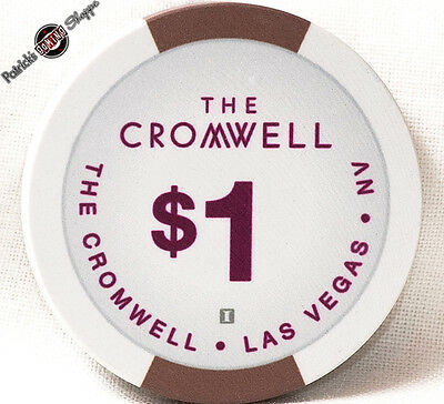 $1 One Dollar Poker Gaming Chip The Cromwell Hotel Casino Las Vegas Nevada 2014