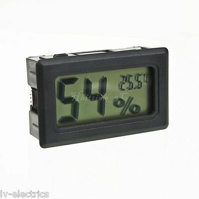 Digital LCD Thermometer Hygrometer Humidity Temperature Meter Indoor House Home