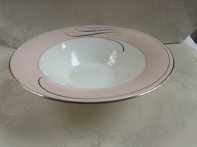 """'' BALLET RIBBON """" by WATERFORD - SERVING BOWL - 9 1/2''"""