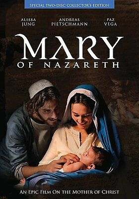 Mary of Nazareth by Alissa Jung (DVD) RLG DRM NEW