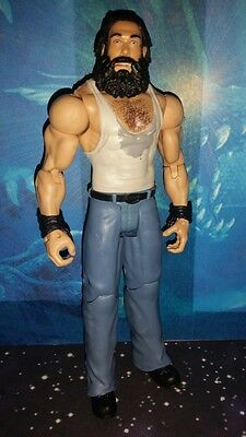 WWE Luke Harper Figur Mattel Basic Elite Wyatt Family IC Champion Bray Buzzards