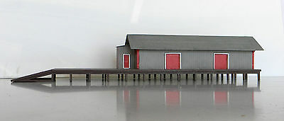 HO scale building kit Goods shed Quality Timber