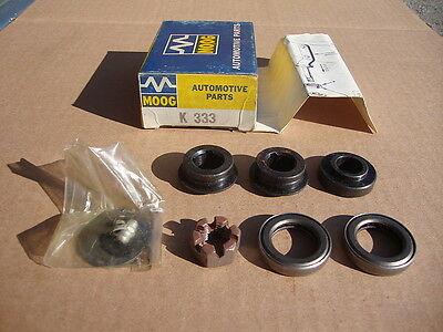 NOS Moog K333 Idler Arm Ball Bearing Conversion - Early Mustang Falcon Fords