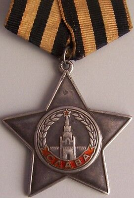 Russian Bravery Medal Oder Of Glory - Low Number - 28274