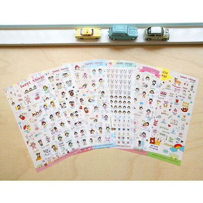 [Sweet Things Sticker] Diary Note Planner Decoration Sticker DIY Dashboard Job