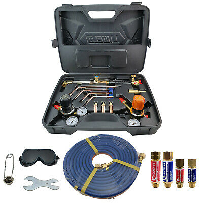 Oxy / LPG Professional FBA Gas Cutting And Welding Kit Oxygen IBEDA Flashback