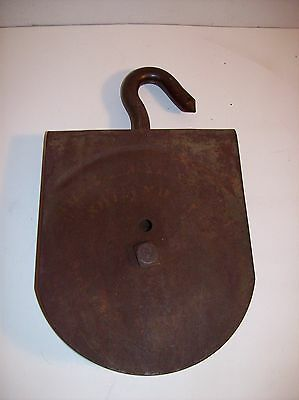 Vintage Heavy Metal Iron Hook & Pulley at Mr.Niceguys Collectibles
