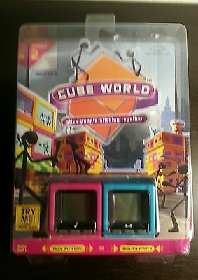 Radica Cube World Series 2 - Blue and Pink Model 76057 Radica New & Sealed