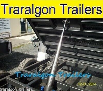 ute tray or trailer Hydraulic Tipper Ram heavy duty 775mm stroke tipping tip1