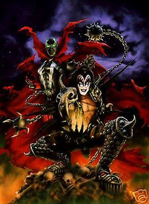 DEMON SPAWNED LITHO SPAWN GENE SIMMONS KISS CUKR AUTO