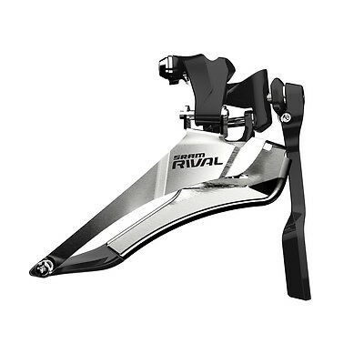 SRAM Rival 22 Yaw Bike Front Derailleur with Chain Spotter - Braze-on