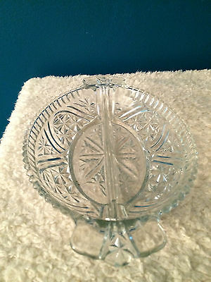 Vintage Glass Relish/Peanut Dishes Set of (2)