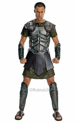 SALE Adult Titans Deluxe Gladiator Perseus Mens Fancy Dress Party Costume Outfit