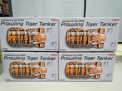 EXXON 2000 PROWLING TIGER TANKER OUT OF FRESH CASE-MINT