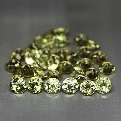 Glittering 5Mm Round Cut Natural Turkish Color Shift Diaspore
