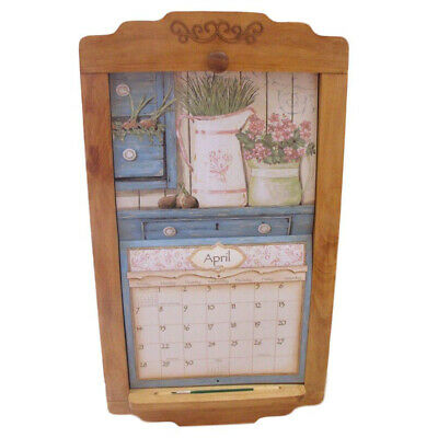 2020 Lang / Legacy Calendar PINE FLIP FRAME Wooden New Display your calender
