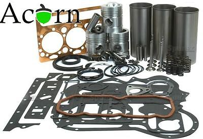 Engine Overhaul Kit Finished Cast Liners (Less Valves) from Acorn Tractor Parts