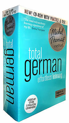 Total German with the Michel Thomas Method inc Practice & Test (CD-Audiobook)