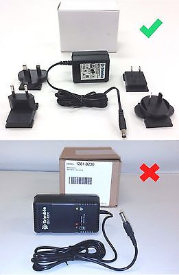 Spectra Precision Pipe Laser Wall Charger DG711 DG511 100-240V 1281-8220 Trimble