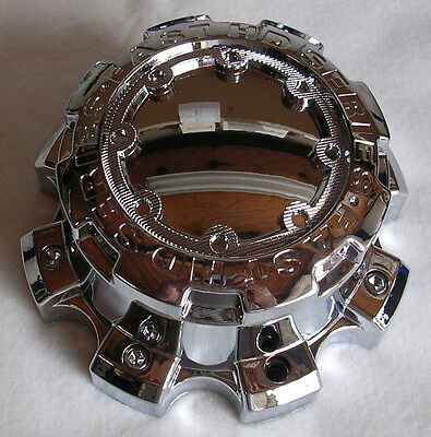 """ULTRA MAMMOTH WHEEL CENTER CAP # 89-9879F FOR CHEVY 8 on 6.5"""" 2-1/2"""" TALL"""
