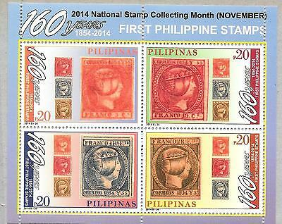 Philippines Stamp: 160 years of First Philippine Stamps