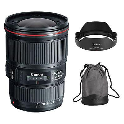 Canon EF 16-35mm f/4L IS USM Lens for DSLR Camera Body