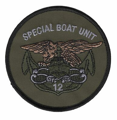 SBU-12 Special Boat Unit One Two Patch OD