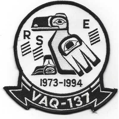 VAQ-137 Electronic Attack Squadron Patch