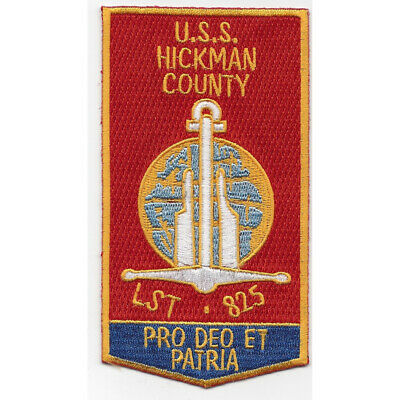 LST-825 USS Hickman County Patch
