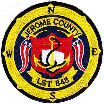 LST-848 USS Jerome County Patch