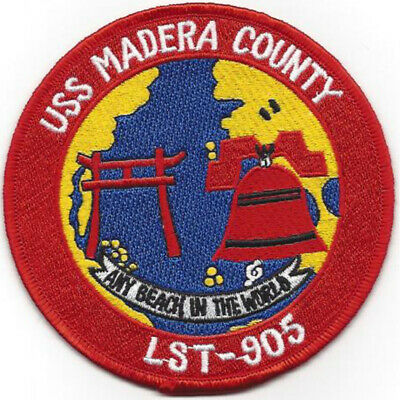 LST-905 USS Madera County Patch