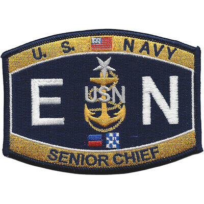 NR-ENCS-Senior Chief Engineman Patch
