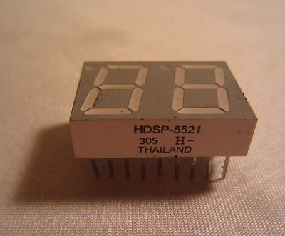 HDSP-5521 305 H- DIP LED Display Chip Anode Thailand