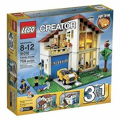 LEGO CREATOR Family House #31012 with Light Brick 8-12 year old NEW in Box
