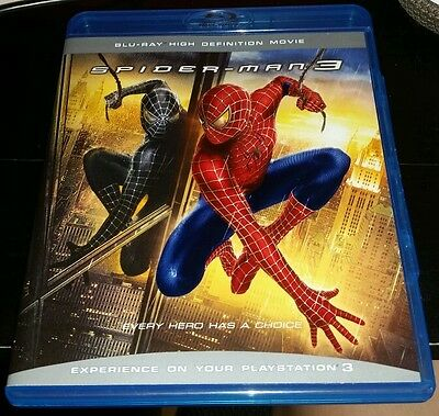 Spider-man 3 (Blu-ray High definition Movie)