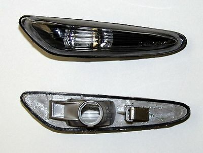 Bmw 3 Series E46 Saloon (01-05) Side Indicator Repeaters - Black