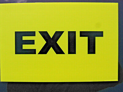 Event Signage - EXIT Sign - Direction Signs Gymkhana Displays Eventing (24-19)