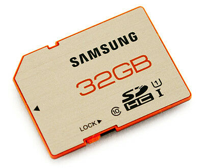 Samsung 32Gb Sdhc Memory Card Class 10 Original Uk Sd For Camera Camcorder