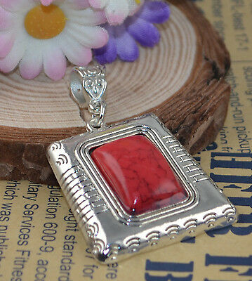 Fashion Jewelry Classical hot cute Turquoise tibet silver Pendants H-2351